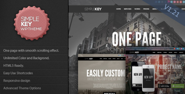 31.one page wordpress theme