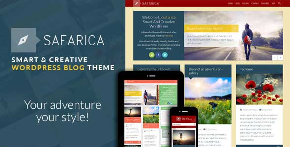 31.wordpress blogging theme