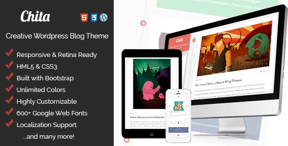 32.wordpress blogging theme