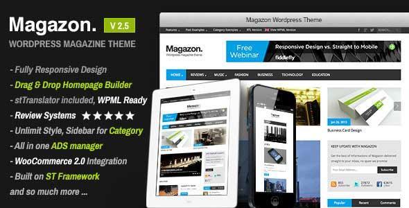 33.Wordpress news themes