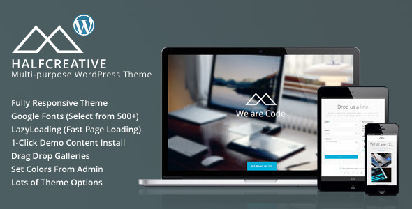 33.one page wordpress theme