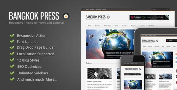 36.Wordpress news themes