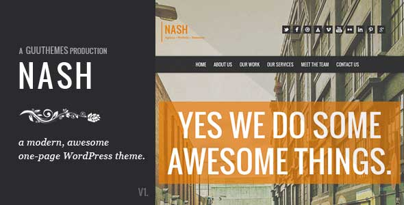 37.one page wordpress theme