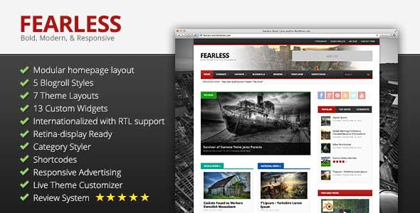 38.Wordpress news themes