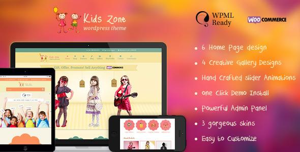 4.best baby and kids wordpress theme