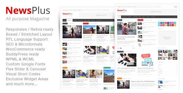 40.Wordpress news themes