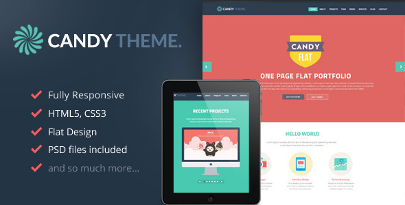41.one page wordpress theme