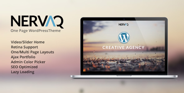 42.one page wordpress theme