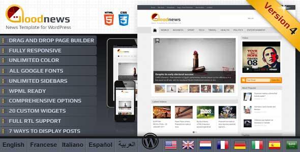 45.Wordpress news themes