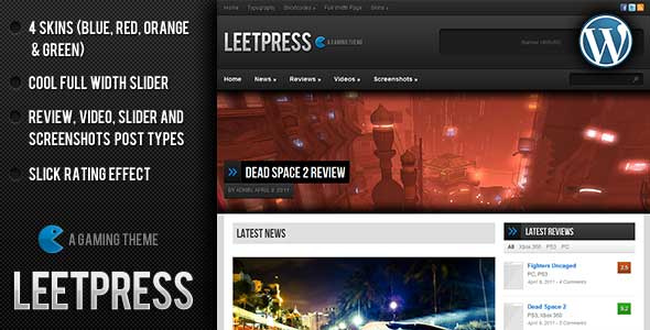 47.Wordpress news themes