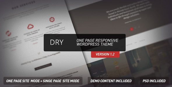 47.one page wordpress theme