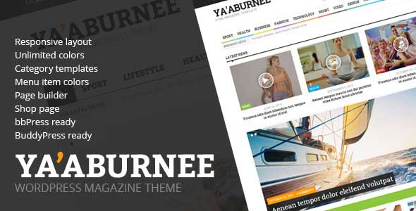 48.Wordpress news themes