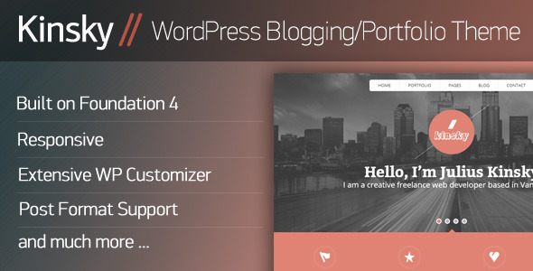 48.wordpress blogging theme