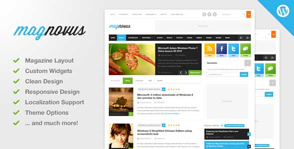 49.Wordpress news themes
