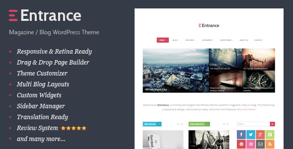 5.Wordpress news themes