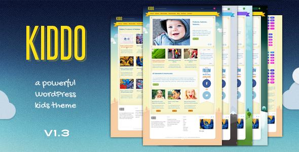 5.best baby and kids wordpress theme