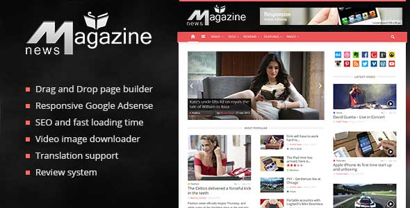 51.Wordpress news themes
