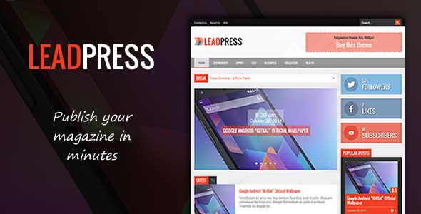 52.Wordpress news themes