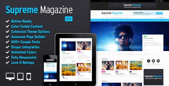 6.Wordpress news themes
