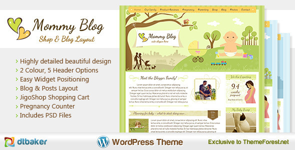 6.best baby and kids wordpress theme