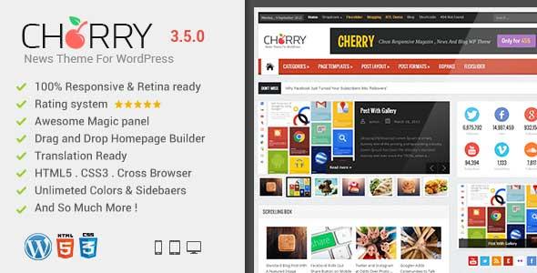 62.Wordpress news themes
