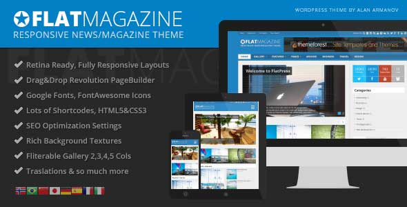 64.Wordpress news themes