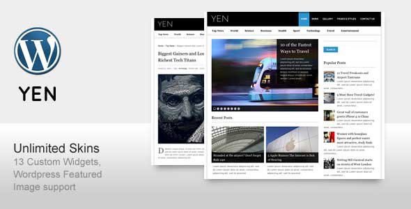 67.Wordpress news themes