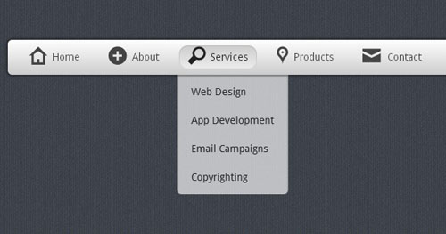 7.css3-html5-dropdown-menu