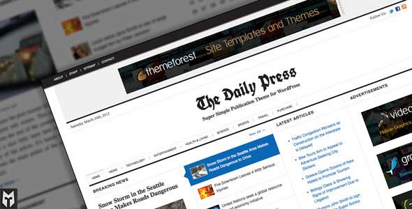 70.Wordpress news themes