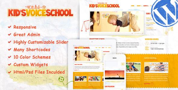 8.best baby and kids wordpress theme