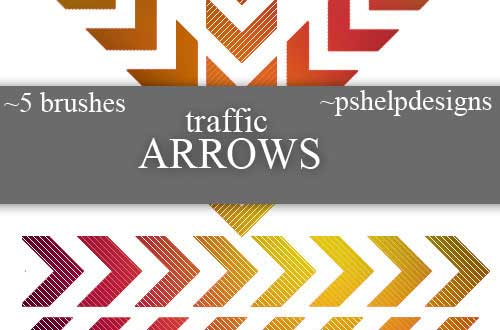 9.arrow-brushes