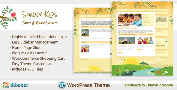 9.best baby and kids wordpress theme