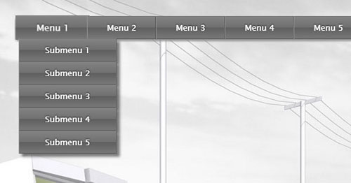 9.css3-html5-dropdown-menu