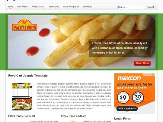 9.free joomla template