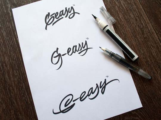 10.Calligraphy and Lettering Sketches