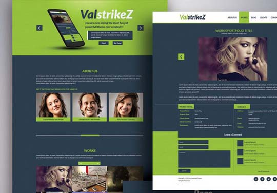103.free website psd