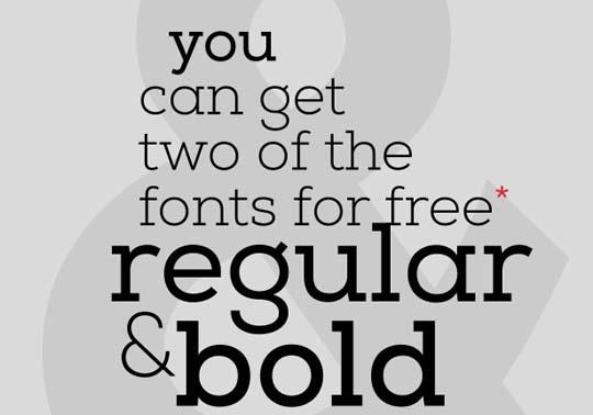11.free fonts