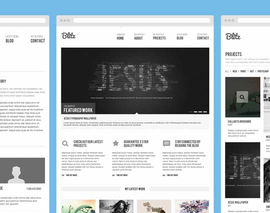 12.free website psd