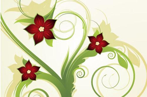 13.free-spring-vectors