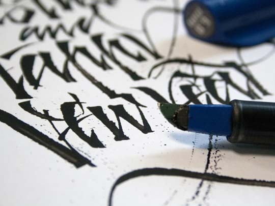 18.Calligraphy and Lettering Sketches