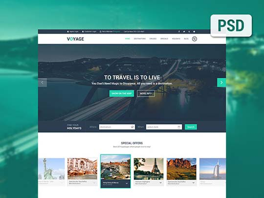 18.free website psd