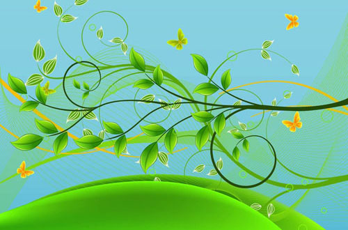 19.free-spring-vectors