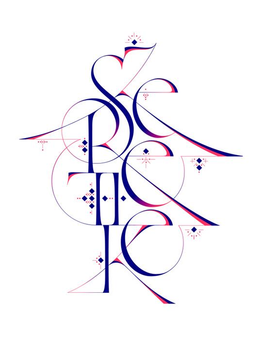 2.custom lettering