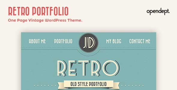 2.free and premium retro wordpress themes