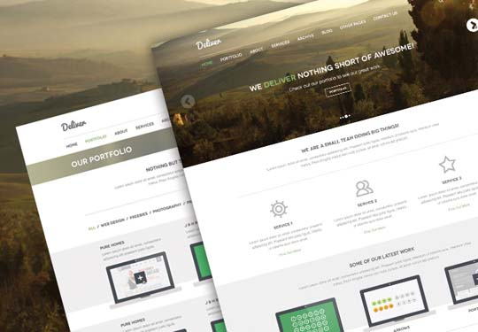 24.free website psd
