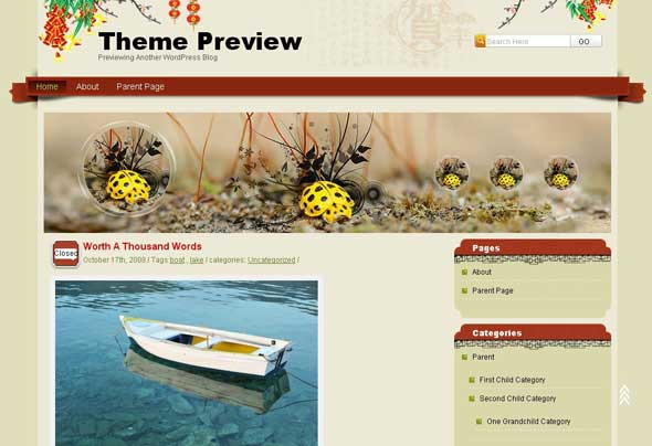 27.free and premium retro wordpress themes