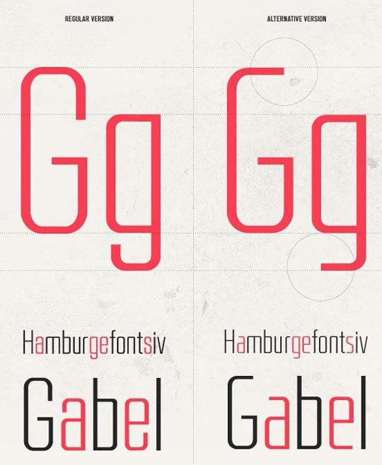 28.free fonts