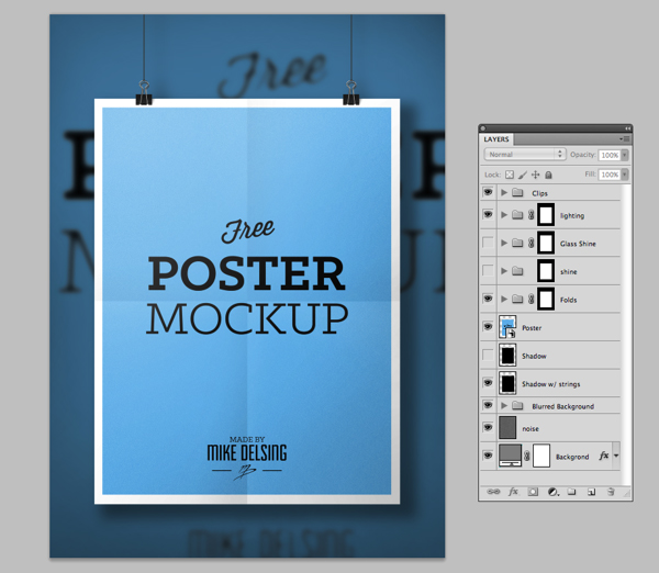 3.Poster Mockup