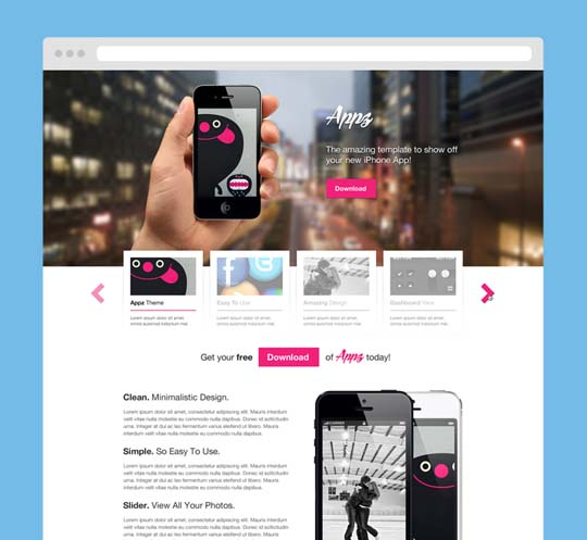 110 totally free psd website templates pixelbell