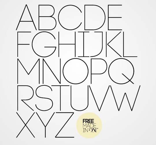 33.free fonts
